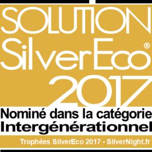 Nominé dans la catégoire Intergénérationnel - Solution Silver Eco 2017